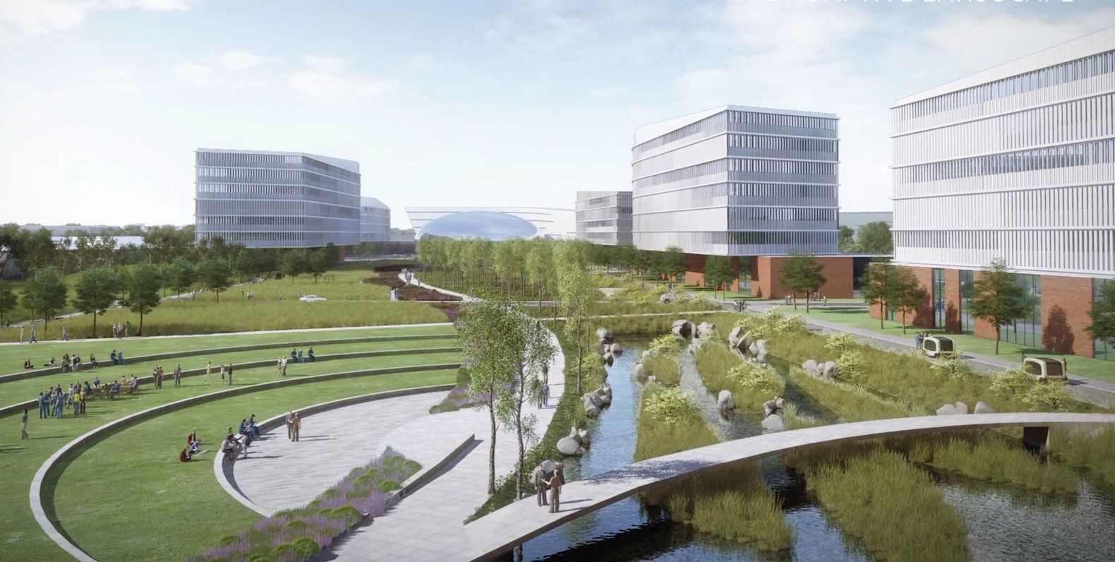 Ford To Transform Dearborn Hq Into A Healthier And Greener Campus