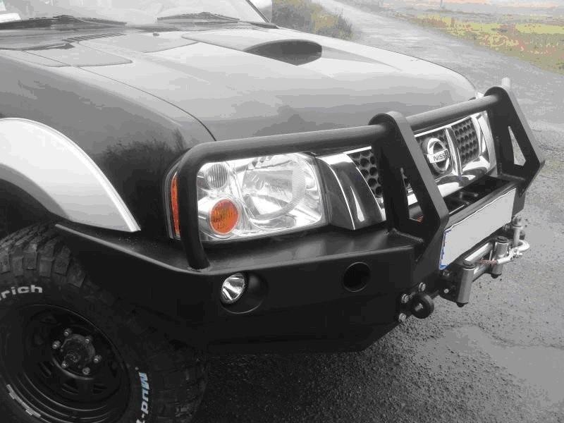 Heavy Duty Front Winch Bumper Nissan Navara D22 Bullbar Www Ramingo4x4 It Nissan Navara Nissan Xtrail Nissan