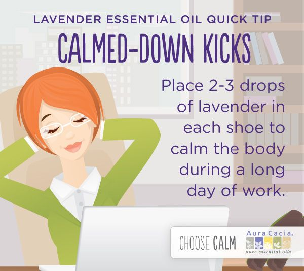 Click for more lavender oil uses
