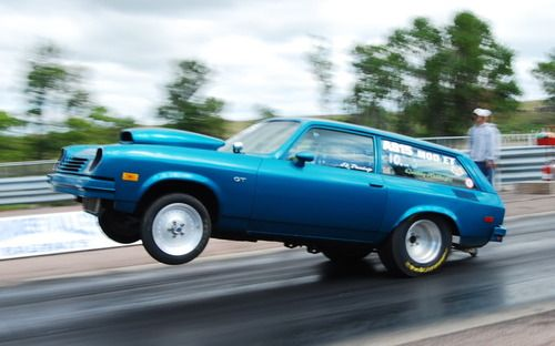 Chevy Vega Drag Racing Cars Chevy Muscle Cars Classic Cars Trucks