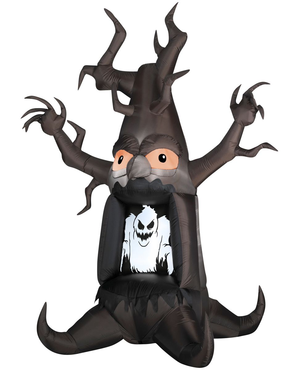 Ghostly Tree Airblown Inflatable Spirit Halloween