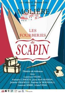 Montagnac : Les Fourberies de Scapin @ Théâtre de Verdure | Montagnac | Languedoc-Roussillon | France
