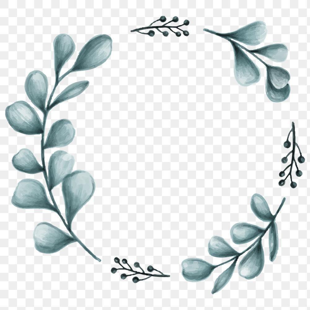 Minimal Leaves Frame Transparent Png Premium Image By Rawpixel Com Noon Leaf Art Love Frames Leaves Illustration