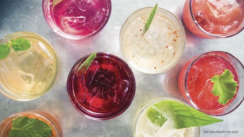 Non-alcoholic drinks are just as fun and just as festive with these tips and recipes.