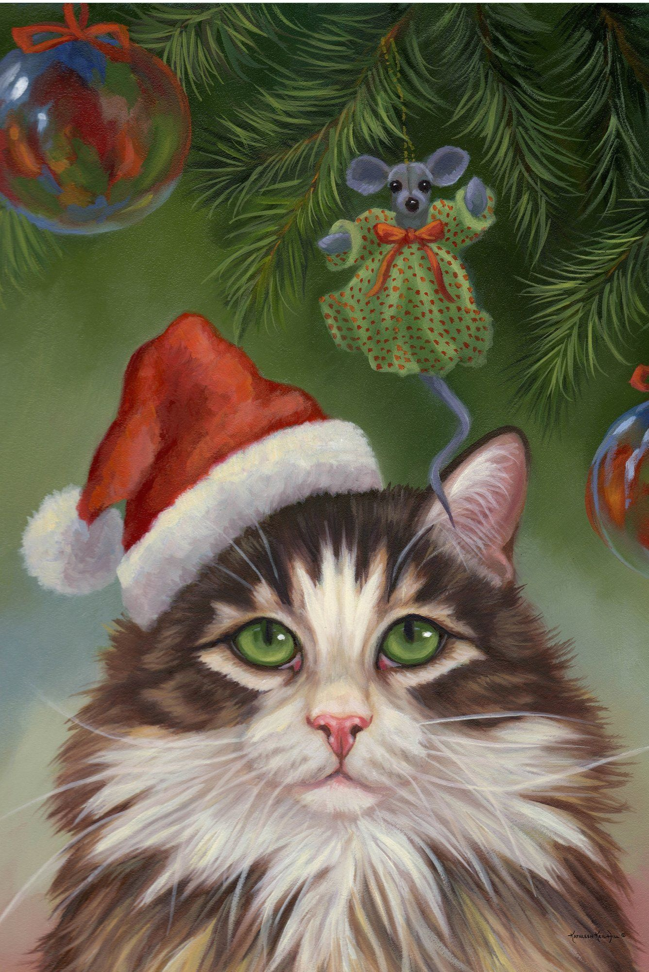 Believe Christmas Cat Garden Flag | Products | Pinterest | Flags and ...