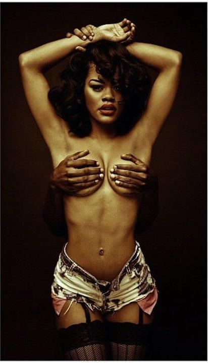 Teyana Taylor Rolling Stones Homage To Janet Jackson Beauty
