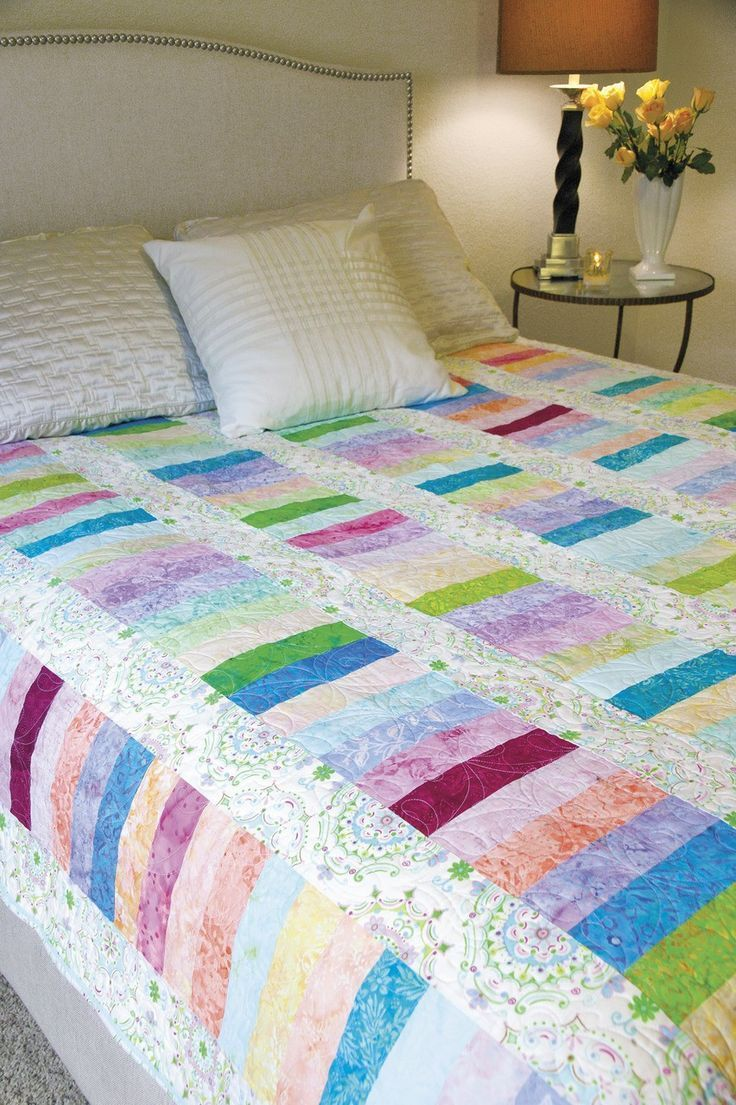 Patchwork bed sheets patterns - Resultado De Imagen Para Tecnica Em Patchwork Strips