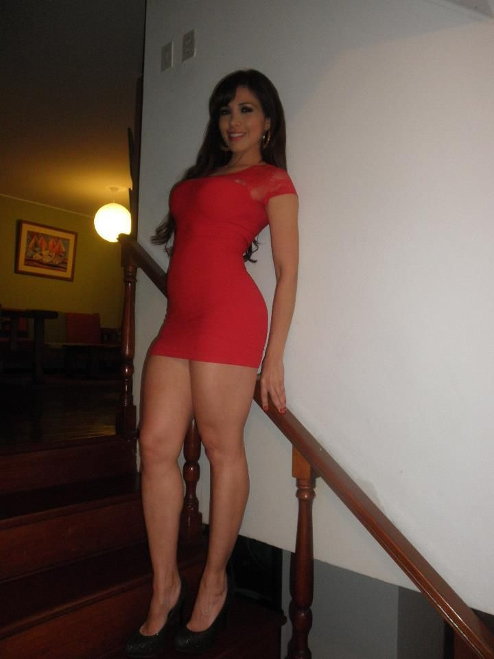 Abby Huntsman Black Dress >> Gorgeous brunette girl with perfect hot body waiting to