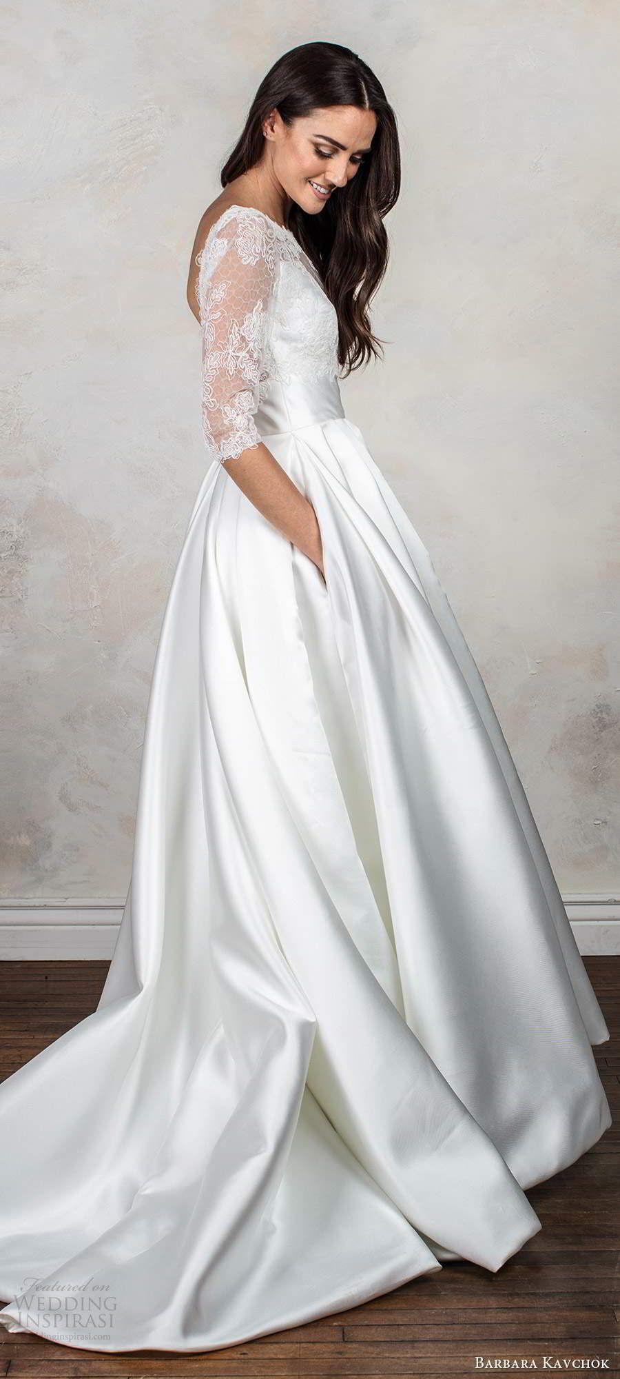 Barbara Kavchok Fall 2020 Wedding Dresses in 2020