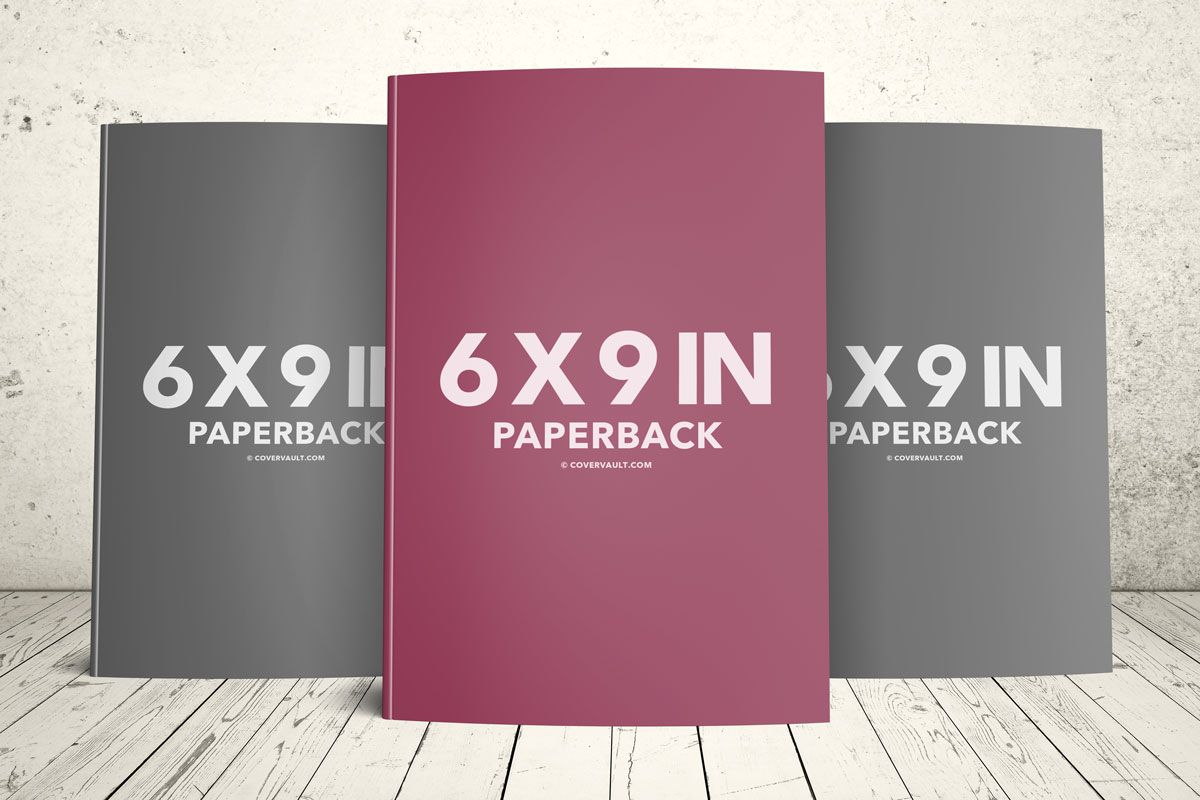 paperback book series trio standing upright psd template mockup ...