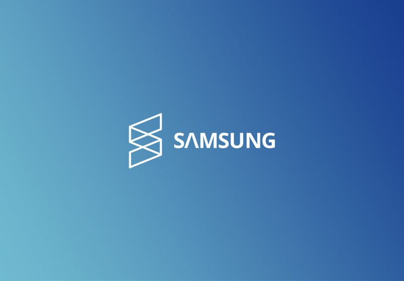 samsung logo re design proposes to unify brand with the letter s