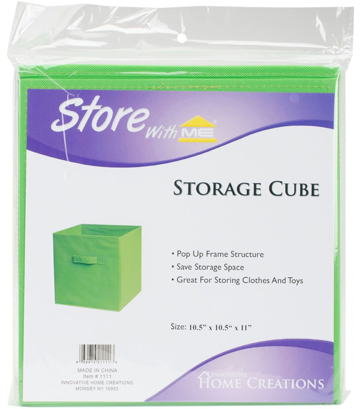 Square Fabric Storage Cube 10 5 X10 5 X11 Green In 2020 Fabric Storage Cube Storage Fabric Squares