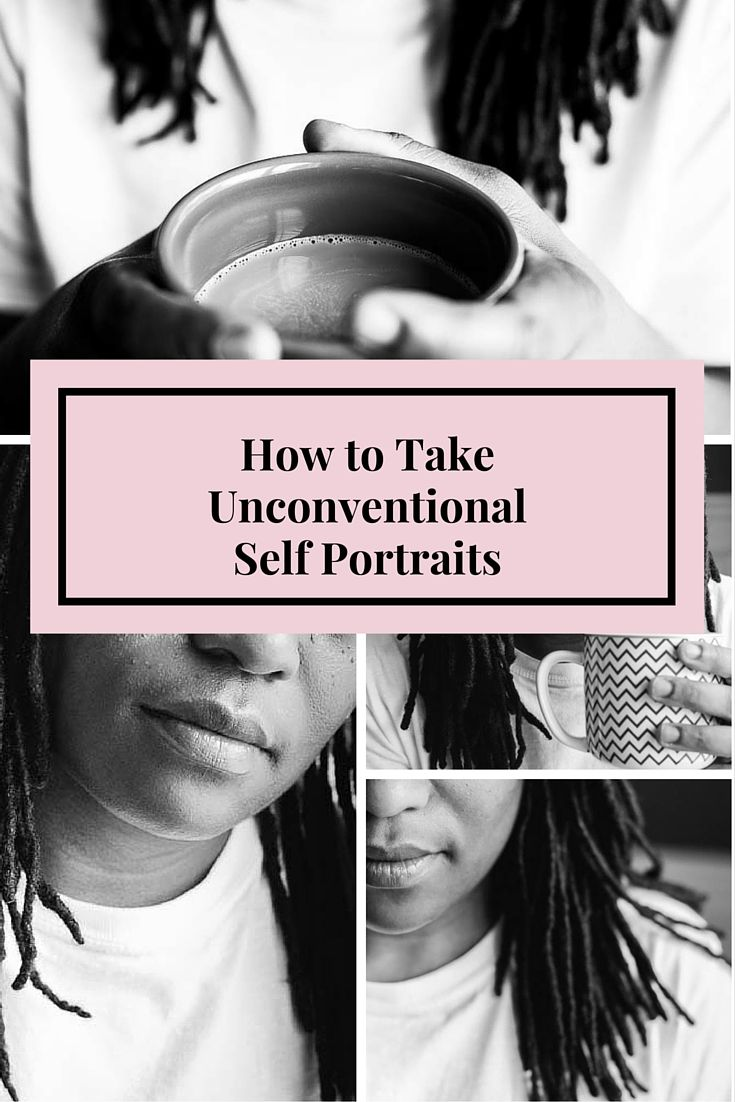 The selfie or self portrait is here to stay. But not every selfie needs to have you looking at the camera. Check out these photography tips for unconventional self portraits.