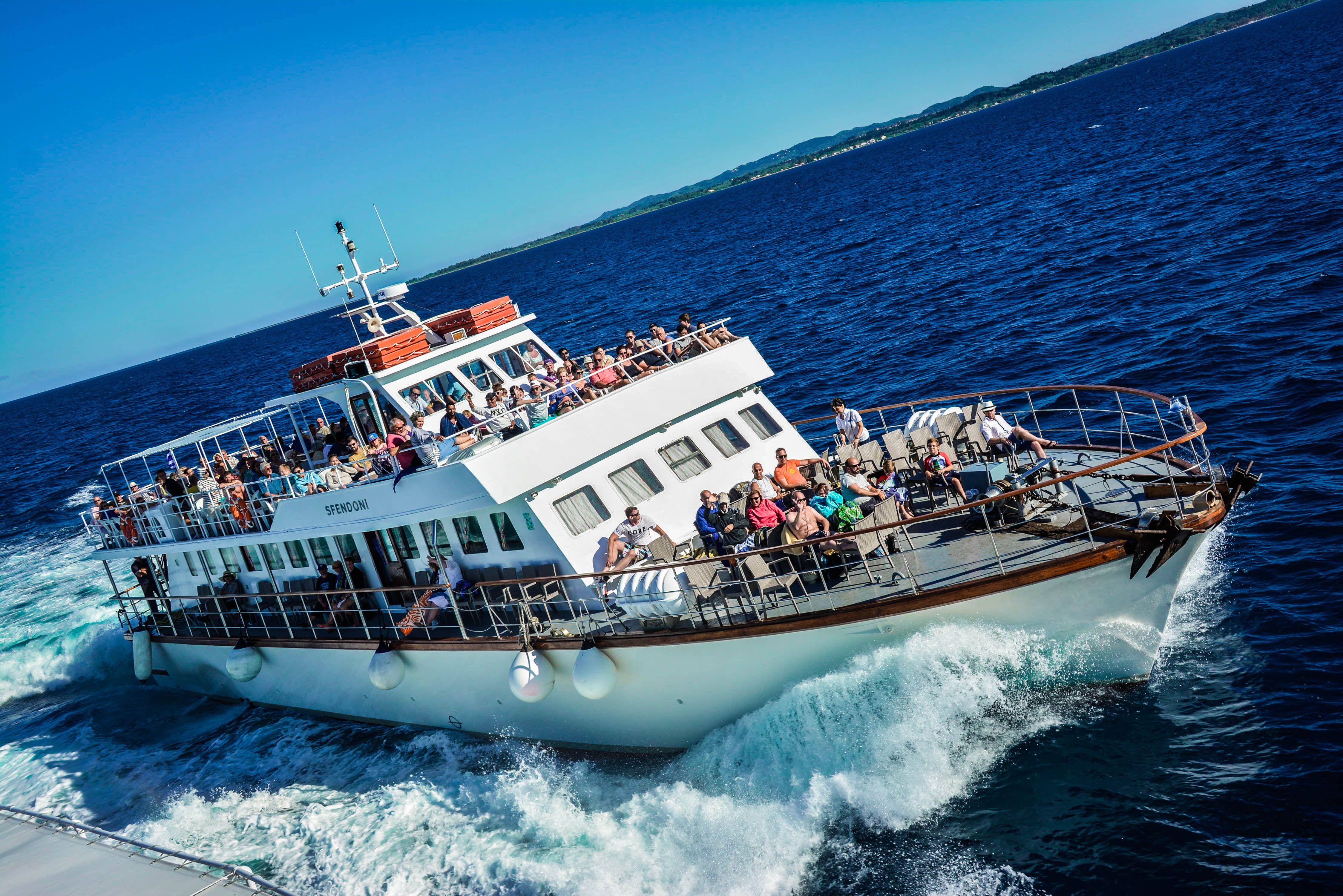 Αποτέλεσμα εικόνας για Daily trips in-corfu with dolphins