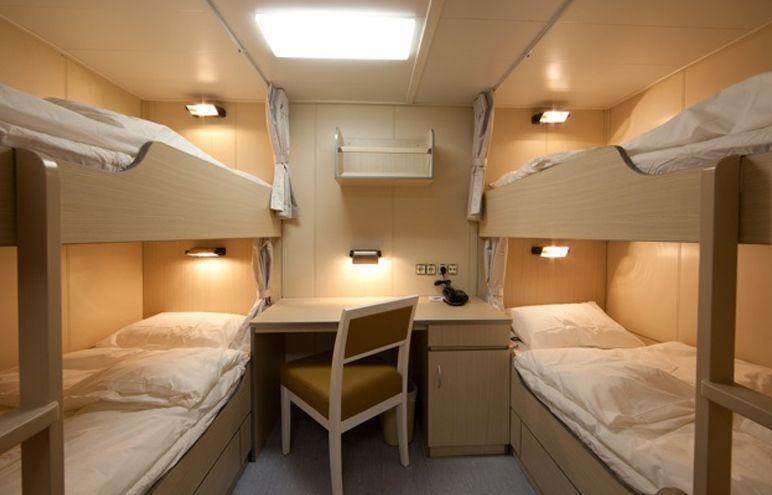 Crew quarters | Offshore Platform | Bunk beds, Oil rig, Home