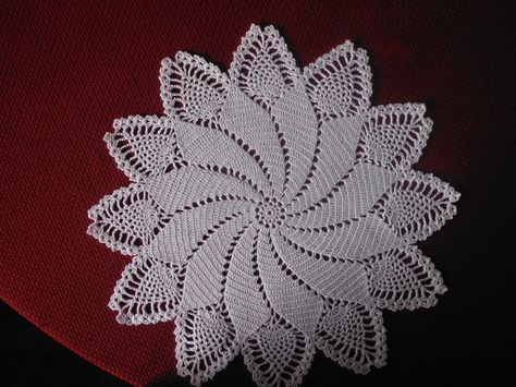 Caprice Doily Crochet Pattern - free membership required   croche 1 ...