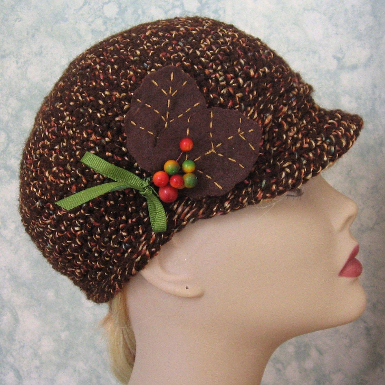 crochet cloche hat pattern free | Head Huggers: Crochet Pattern ...