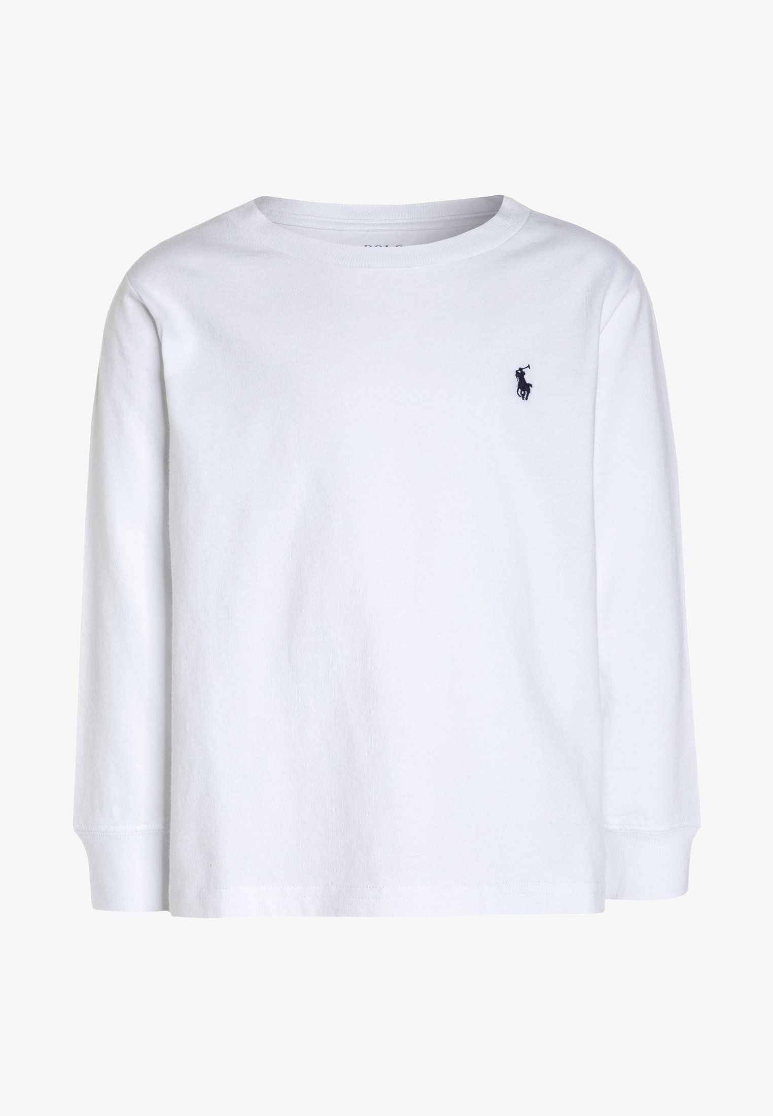 Polo Ralph Lauren BASIC - T-shirt à manches longues - white - ZALANDO. b108fdf98cab