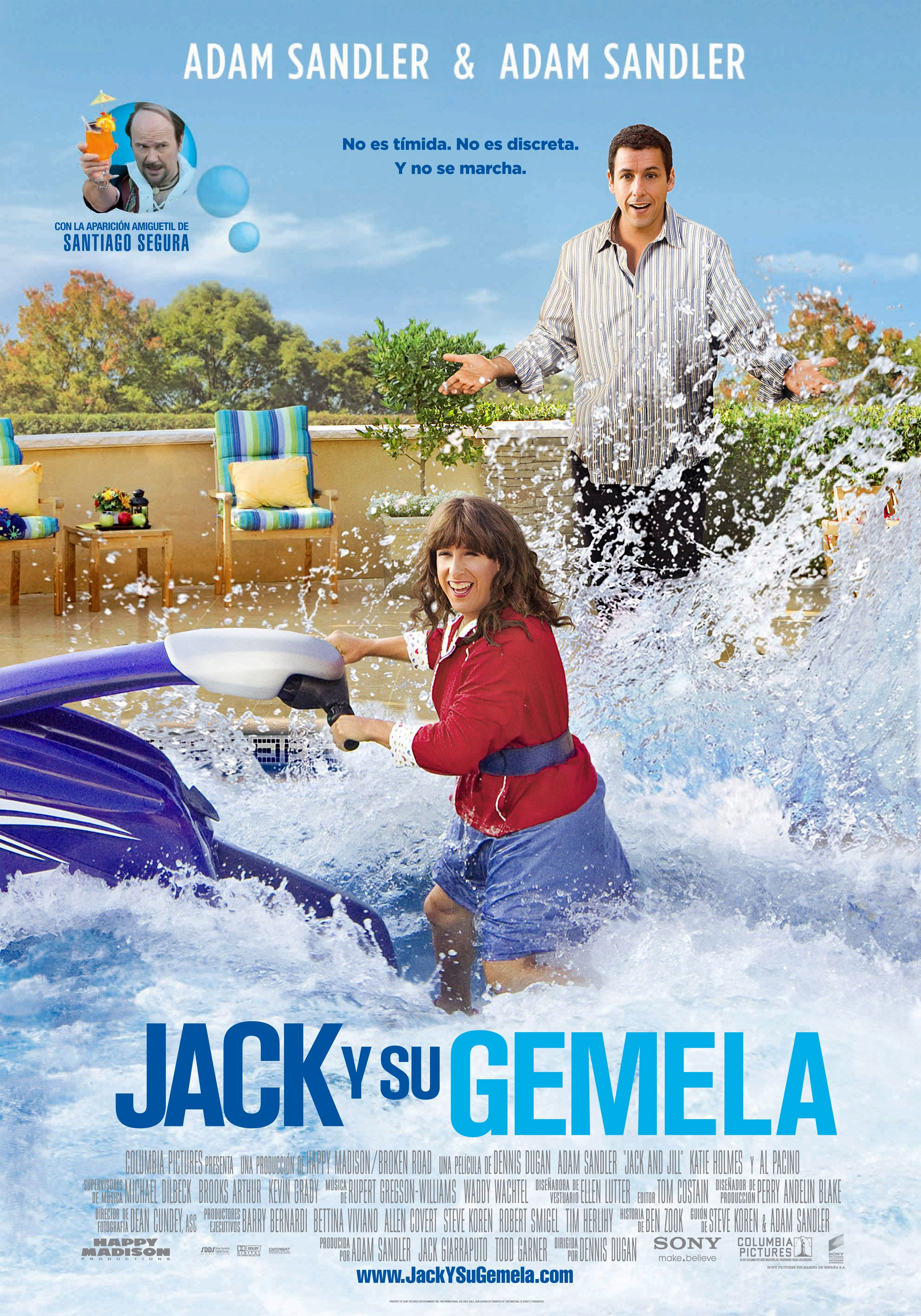 Jack y su gemela, ya la habia visto pero ya que la ponen...hay que verla!Al Pacino!
