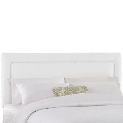 White Skid Bed Frame