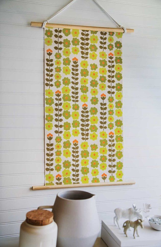 If You Love Wallpaper But Can\'t Commit, This Idea\'s For You ...