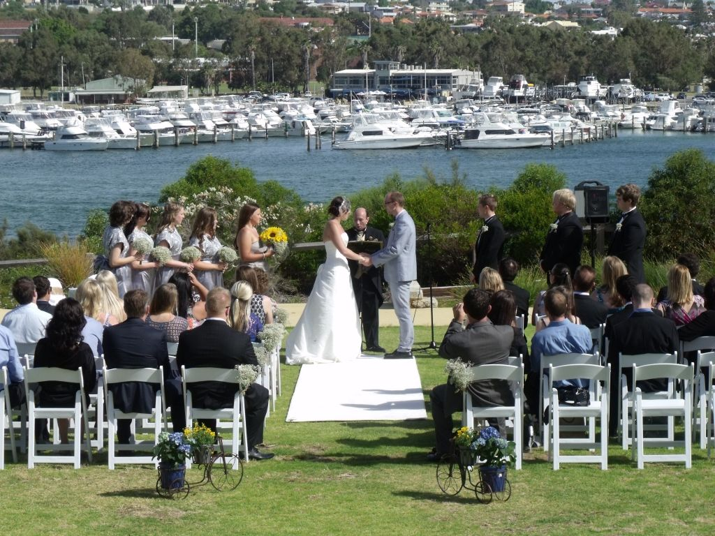 wedding packages western australia%0A TheCelebrantPerth com au  Loved conducting this lavish  classically  elegant  fairytale wedding ceremony at Garungup Park  Mosman Park  Western  Australia