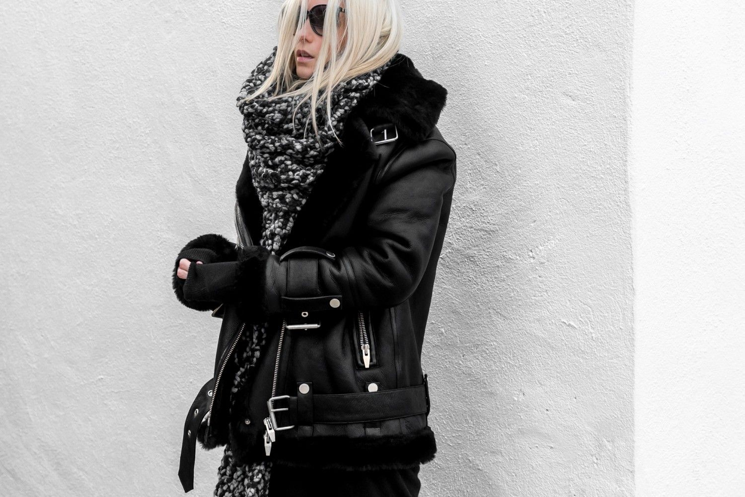 Figtny Com The Arrivals Oversized Shearling Jacket Shearling Jacket Black Shearling Jacket Fashion [ 1001 x 1500 Pixel ]