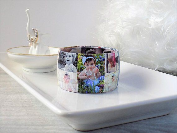 Photo Bracelet - Best Christmas Gift for Mom - Personalized Gift for