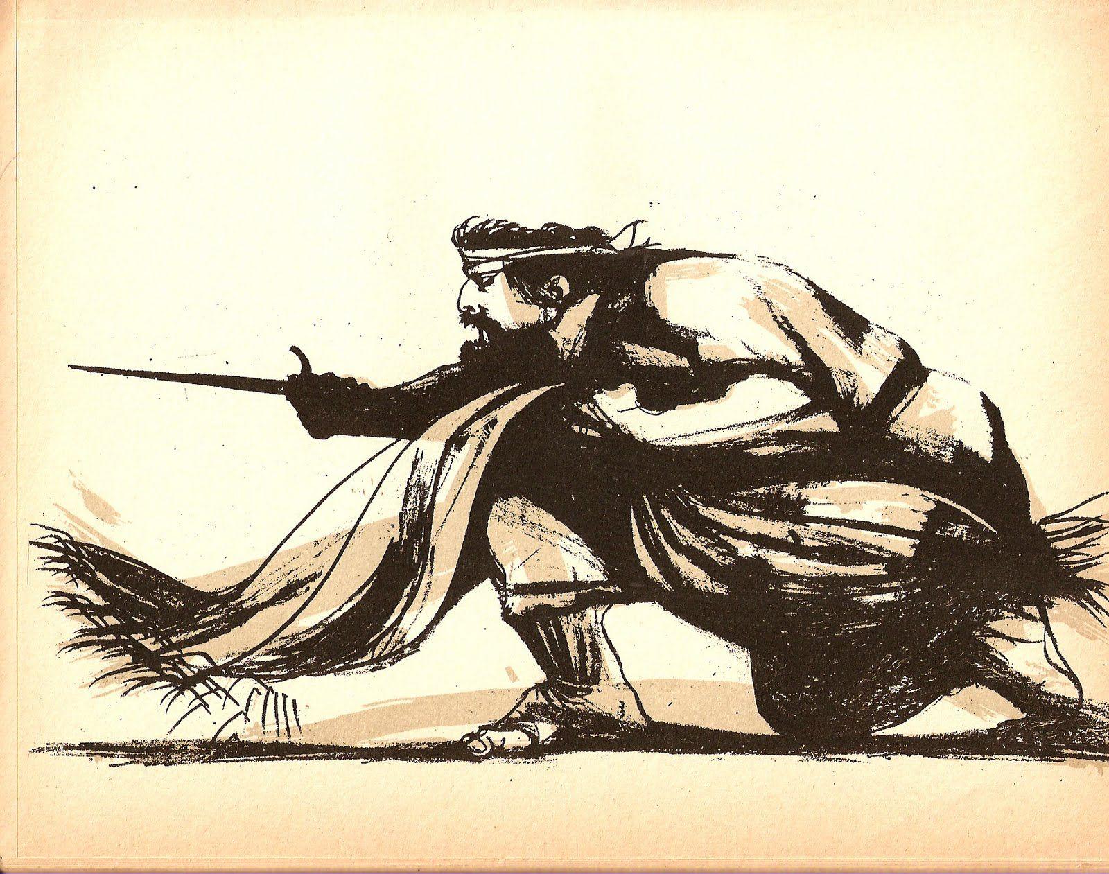 Carlos Alonso Dibujos De Campos Pinturas Frases De Caballos