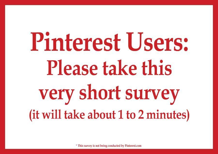 Please take this quick Survey Monkey survey https//www