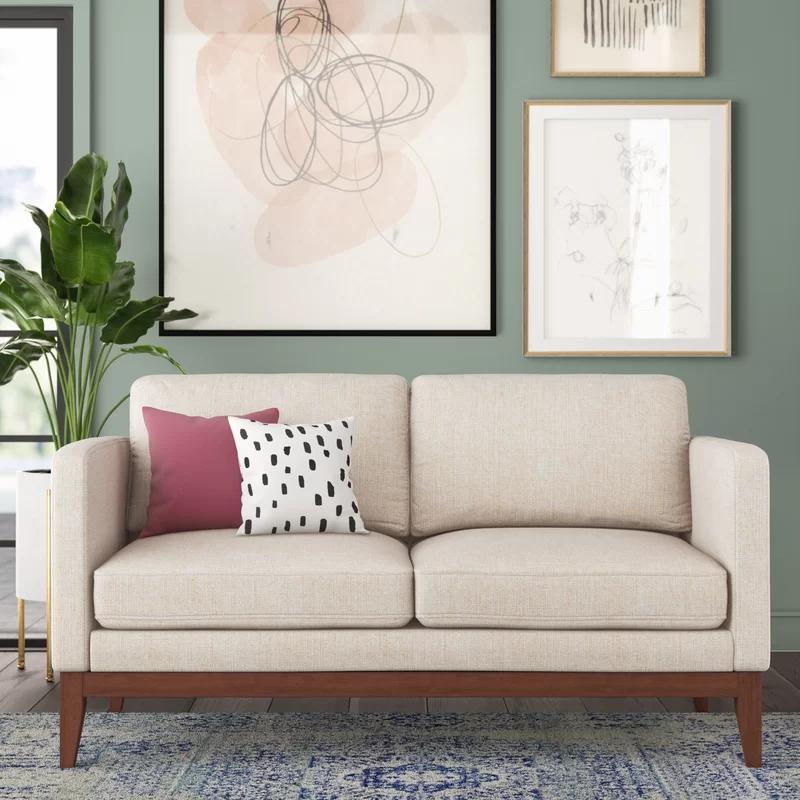 Laney Loveseat Love Seat Tufted Loveseat Furniture Of America