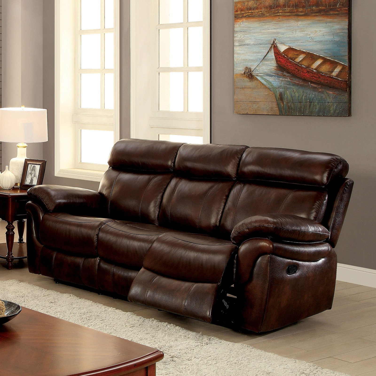 Cool Furniture Of America Benson Transitional Style Leatherette Bralicious Painted Fabric Chair Ideas Braliciousco