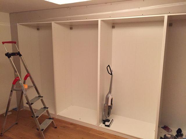 Einbauschränke Ikea pax built in einbauschrank trockenbau knauf basement