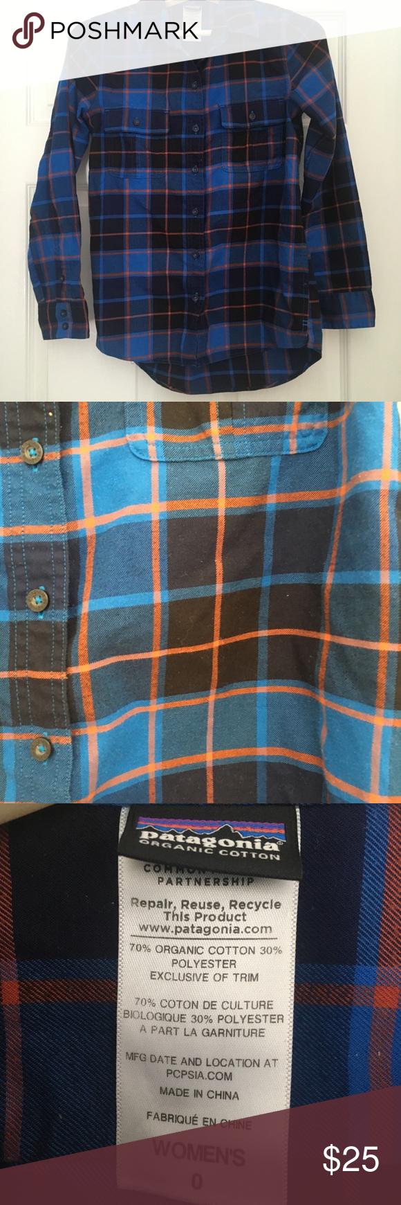 Orange flannel jacket  Patagonia womenus flannel shirt  Patagonia Flannel shirts and Flannels