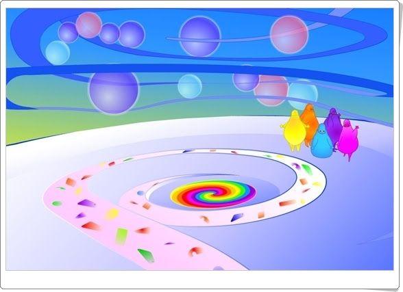 """""""Boohbah Zone"""" es una extraordinaria creación donde los niños pequeños experimentarán con formas, colores y sonidos."""