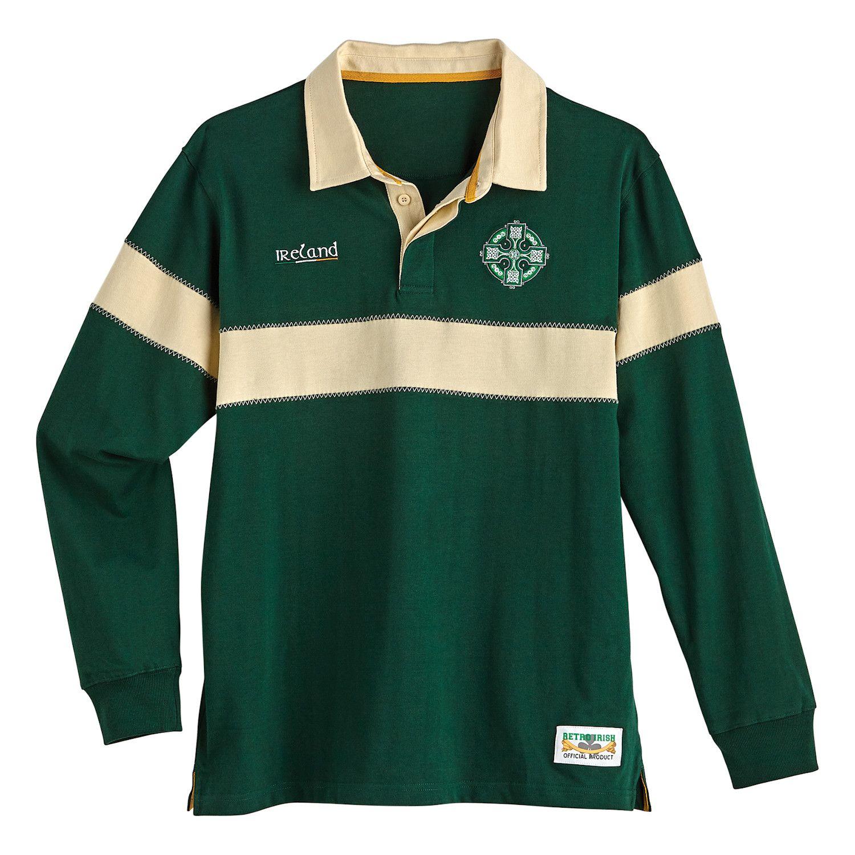 Men's Ireland Rugby Jersey Ireland rugby, Jersey shirt
