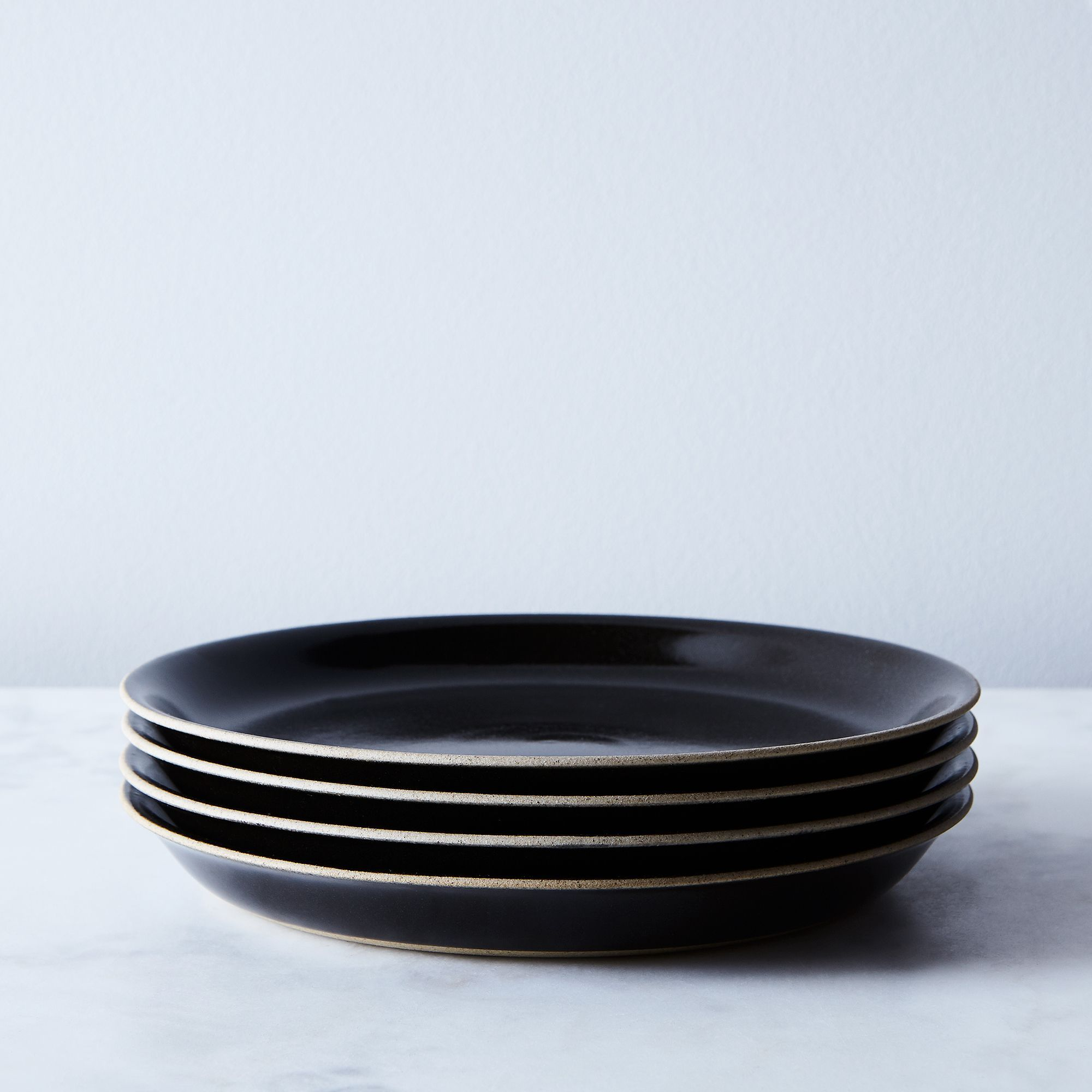 Black Japanese Ceramic Dinnerware (Set of 4) & Black Japanese Ceramic Dinnerware (Set of 4) | kitchen | Pinterest ...