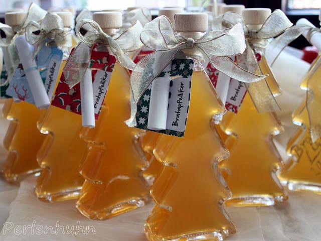 #Weihnachten #Geschenke aus der Küche - #Bratapfel-#Likör in schönen #Flaschen von Flaschenbauer https://www.flaschenbauer.de/Spirituosenflaschen/Sonderformen-Motivflaschen/Tannenbaum-0-2-l-16-mm.html