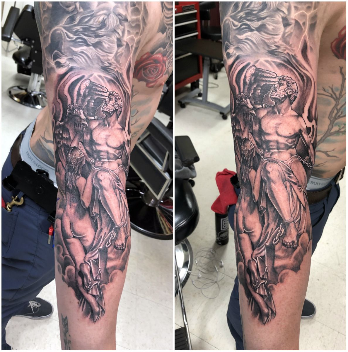 Prometheus Tattoo | Greek tattoos, Tattoo sleeve designs ...