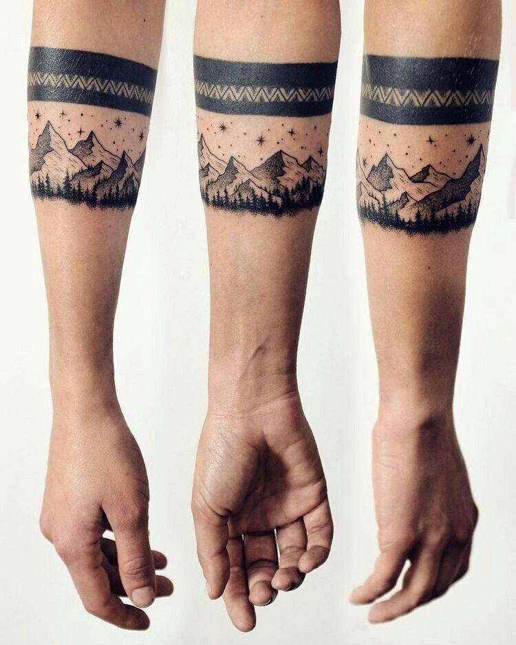 Pingl par lena zibert sur tattoo pinterest tatouages id e tatouage et id es de tatouages - Tatouage bande bras ...