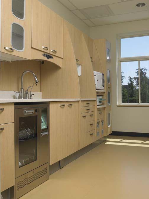 Sterilization Area Dental Office Design Pinterest