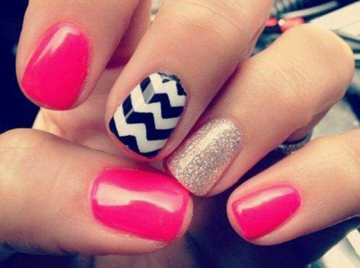 Cute easy nail ideas for short nails manicure pinterest cute easy nail ideas for short nails prinsesfo Image collections
