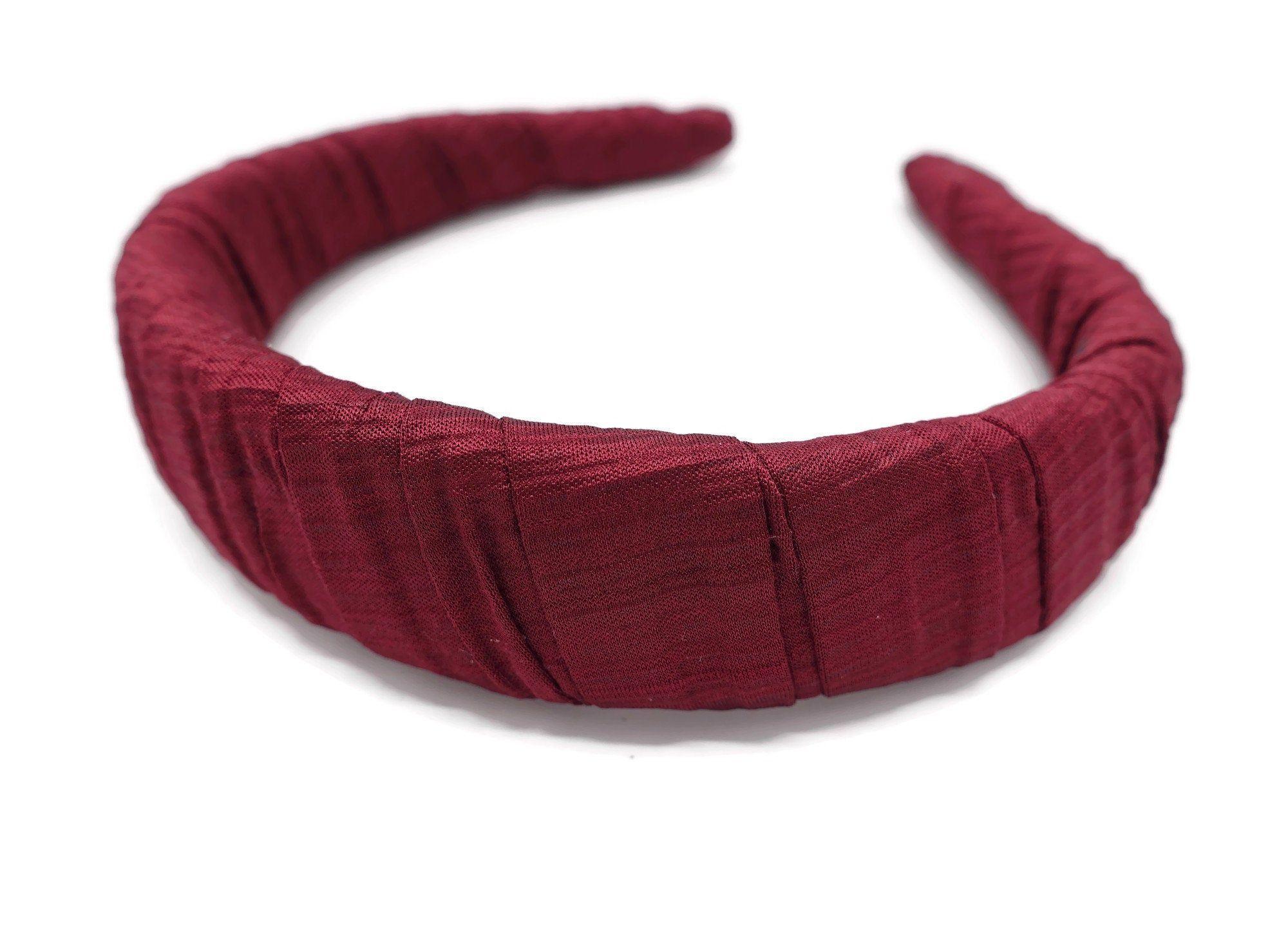 padded headband corrugated fabric wrap hairband pleated women hair accessory  padded headband corrugated fabric wrap hairband pleated women hair accessory #HighHeadband #PaddedH #Accessory #corrugated #Fabric #hair #Hairband #Headband #padded #pleated #Women #wrap