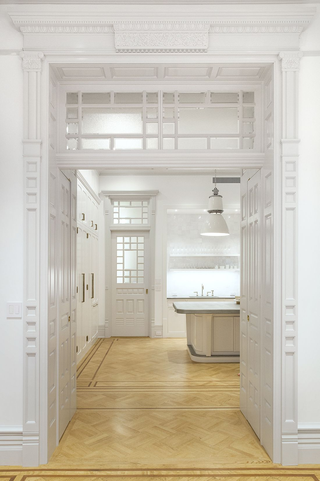 Timeless White Kitchen by Reunion Goods & Services and Fogarty ...