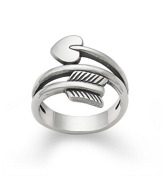 James Avery Sterling Silver Arrow Heart Ring James Avery Rings