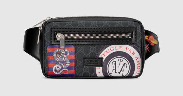 7245b1d5833878 Night Courrier soft GG Supreme belt bag | Design that I love | Bags ...