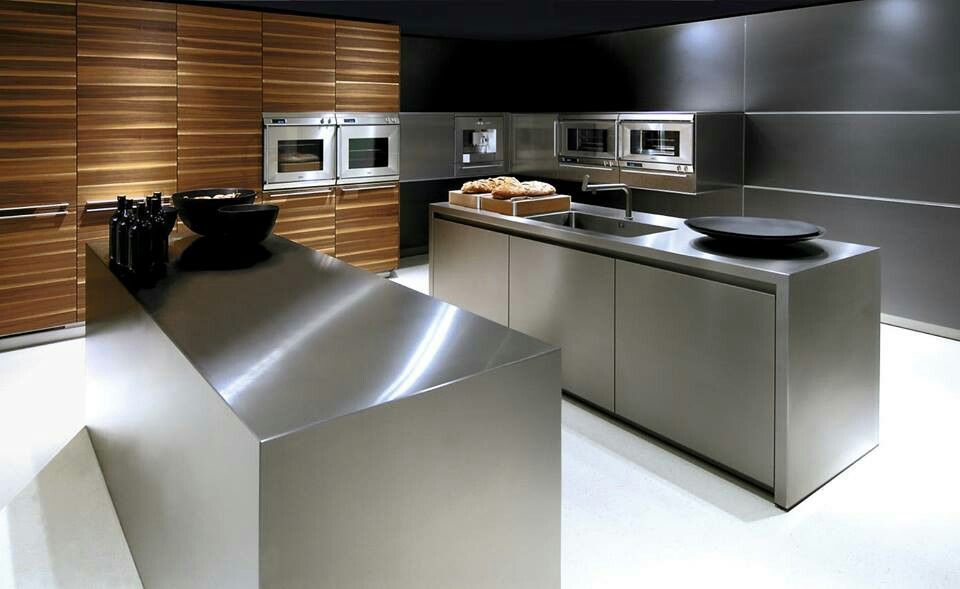 bulthaup - cuisine b3 - point du0027eau avec plan de travail et cuve en - joint pour plan de travail cuisine