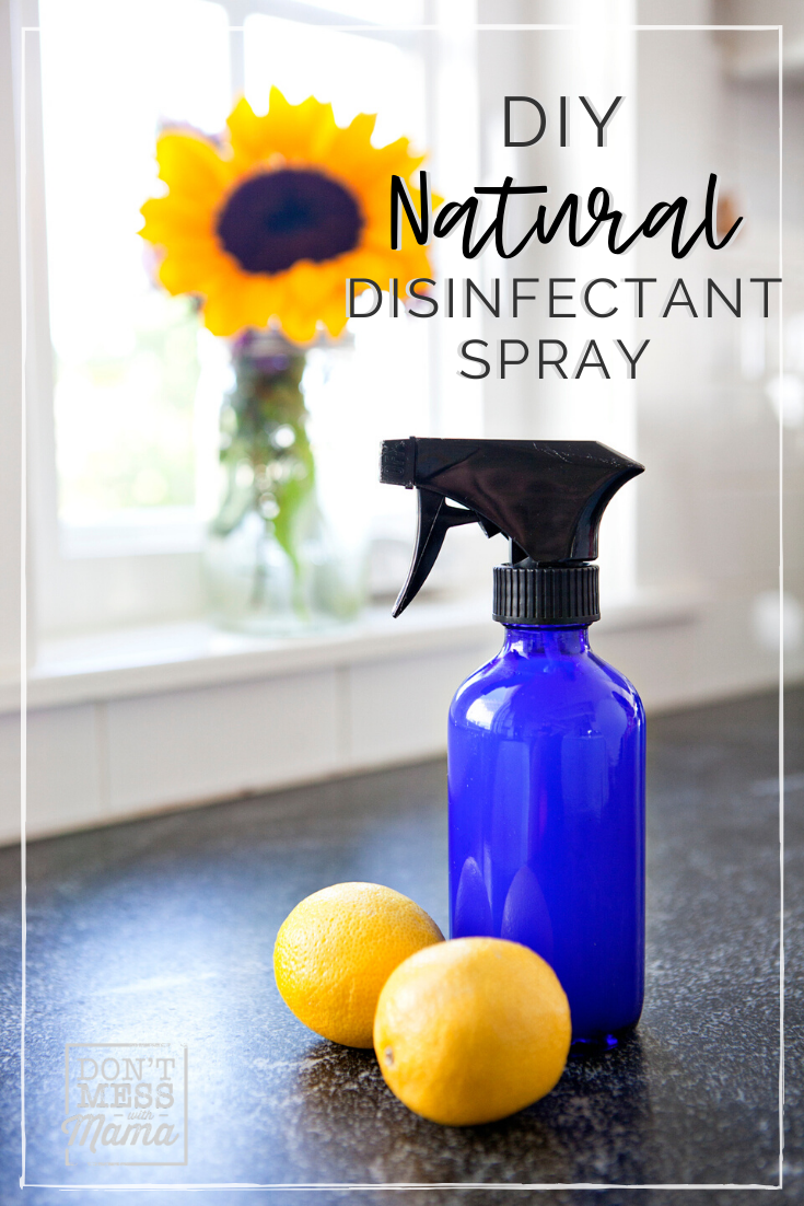 DIY Disinfectant Spray (Homemade Lysol) in 2020