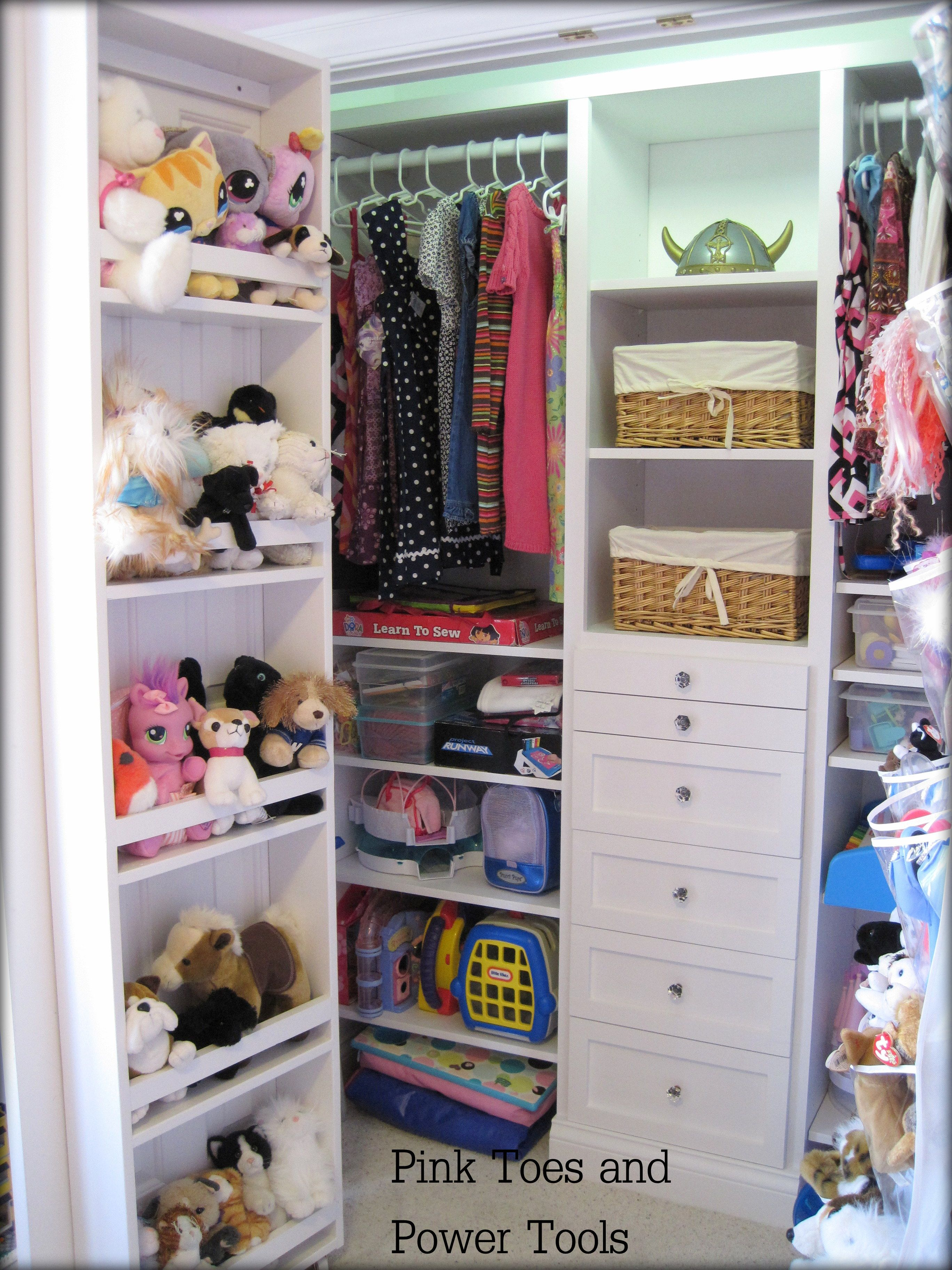 Girls Closet Organization · Doors Make Perfect Spots For All Sorts Of  Storage Hacks, Here Are Our 14 Faves