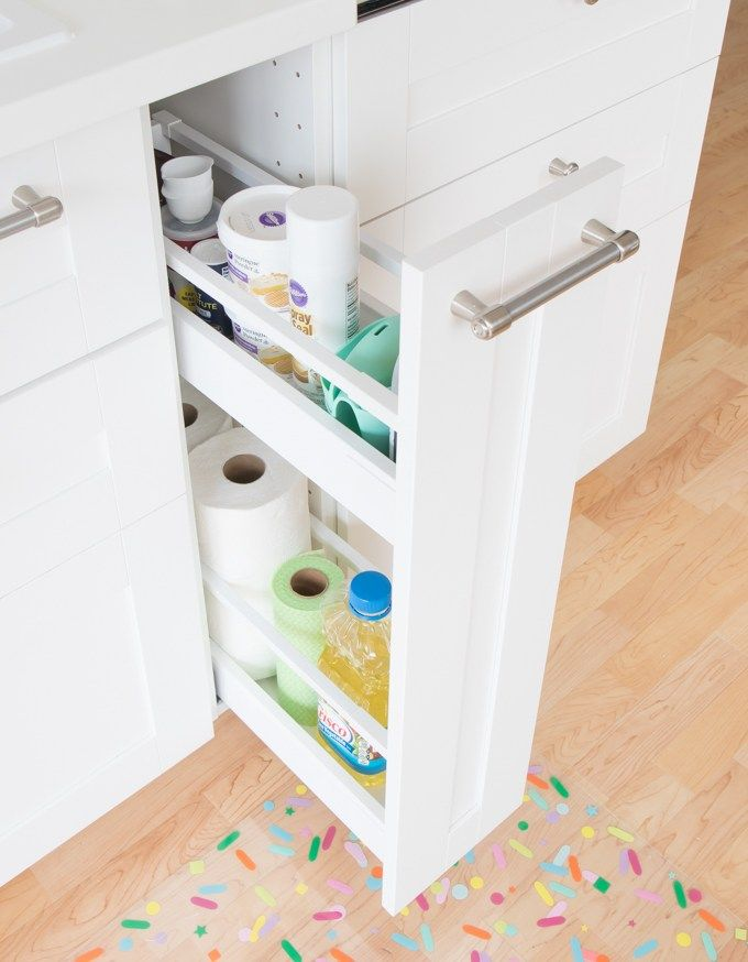 Colorful Kitchen Supplies: Baking Supply Organization & Inspiration My Colorful